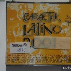 CDs de Música: TRIPLE CD NUEVO PRECINTADO - CARACTER LATINO 2001 . Lote 173277290