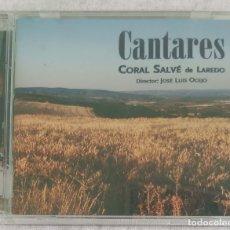 CDs de Música: CANTARES (CORAL SALVE DE LAREDO) CD 2006 RTVE MÚSICA - JOAN MANUEL SERRAT, PABLO NERUDA. Lote 173320095