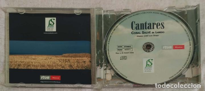 CDs de Música: CANTARES (CORAL SALVE DE LAREDO) CD 2006 RTVE Música - JOAN MANUEL SERRAT, PABLO NERUDA - Foto 3 - 173320095