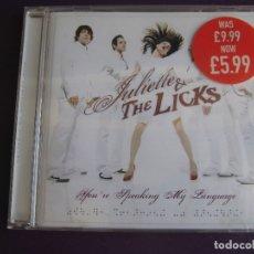 CD de Música: JULIETTE LEWIS & THE LICKS CD HASSLE 2005 - YOU'RE SPEAKING MY LANGUAGE - GARAGE ROCK PUNK HOLLYWOOD. Lote 173336458