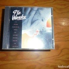 CDs de Música: 9 SEMANAS Y MEDIA ( 9 1/2 WEEKS) CAPITOL, 1986. BSO. EMI, 1997. CD. IMPECABLE. Lote 173371039