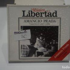 CDs de Música: CD NUEVO PRECINTADO - AMANCIO PRADA / CANCIONES DE AMOR Y CELDA. Lote 173378359