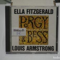 CDs de Música: CD - ELLA FIZGERALD - LOUIS ARMSTRONG PORGY & BESS. Lote 173386145