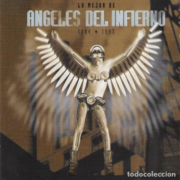 ANGELES DEL INFIERNO - LO MEJOR DE ANGELES DEL INFIERNO 1984-1993 (Música - CD's Heavy Metal)