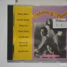 CDs de Musique: CD - THE MAMAS & THE PAPAS THE GREAT LIVE. Lote 173387267