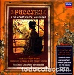 PUCCINI. THE GREAT OPERA COLLECTION (Música - CD's Clásica, Ópera, Zarzuela y Marchas)