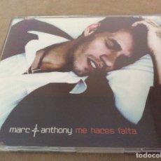 CDs de Música: MARC ANTHONY / ME HACES FALTA (CD SINGLE CAJA 2002). Lote 173439823