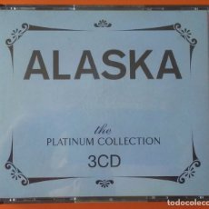 CDs de Música: ALASKA THE PLATINUM COLLECTION 3 CD'S EMI 2007. Lote 173446017