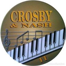 CDs de Música: CROSBY & NASH * CD * LATA METÁLICA * ULTRARARE * EDICIÓN PORTUGUESA. Lote 173463998