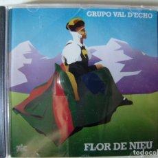 CDs de Música: GRUPO VAL D´ECHO.FLOR DE NIEU...ARAGON...DIFICIL FOLK.4º Y ULTIMO ALBUM. Lote 173473638