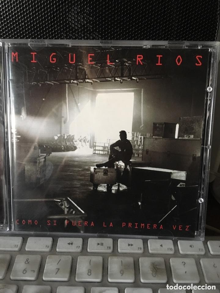 MIGUEL RIOS-COMO SI FUERA LA PRIMERA VEZ-1996-EXCELENTE ESTADO-LIBRETO GORDO (Música - CD's Rock)