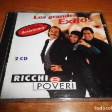 CDs de Música: RICCHI E POVERI LOS GRANDES EXITOS EN ESPAÑOL E ITALIANO DOBLE CD DEL AÑO 1994 ESPAÑA 20 TEMAS 2 CD. Lote 173500180