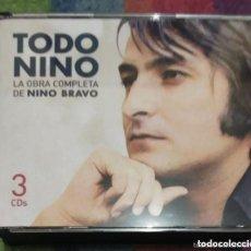 CDs de Música: NINO BRAVO (TODO NINO - LA OBRA COMPLETA DE NINO BRAVO) 3 CD'S 2003. Lote 173505574
