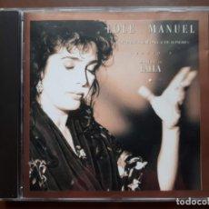 CDs de Música: LOLE Y MANUEL CON ORQUESTA SINFÓNICA DE LONDRES CANTAN A MANUEL DE FALLA. Lote 173513213