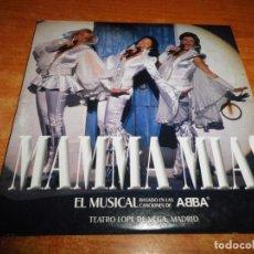 CDs de Música: MAMMA MIA BANDA SONORA DEL MUSICAL ABBA EN ESPAÑOL CD SINGLE PROMO ESPAÑA CARTON 2 TEMAS. Lote 173524815