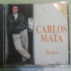 CDs de Música: CARLOS MATA CAUTIVO CD ALBUM DEL AÑO 1990 CONTIENE 10 TEMAS MUY RARO EN CD TELENOVELA. Lote 173565378