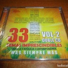CDs de Música: MUSICA CATOLICA CONTEMPORANEA VOL 2 - 2 CD 2017 SON BY FOUR LA VOZ DEL DESIERTO AXANA JOSE OLGUIN . Lote 173579853
