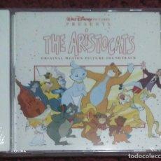 CDs de Música: B.S.O. THE ARISTOCATS (WALT DISNEY PICTURES) CD 1994 ORIGINAL MOTION PICTURE SOUNDTRACK * PRECINTADO. Lote 173600635