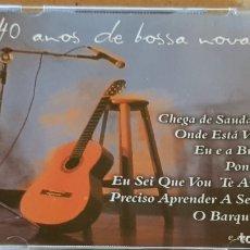 CDs de Música: 40 ANOS DE BOSSA NOVA / VARIOS ARTISTAS / CD-MOVIE PLAY-BRASIL / 17 TEMAS / LUJO.. Lote 173621870