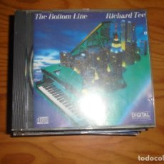 CDs de Música: RICHARD TEE. THE BOTTOM LINE. ELECTRIC BIRD. EDC. ALEMANA. CD . IMPECABLE (#). Lote 173628414
