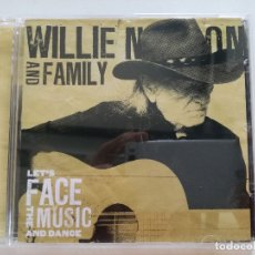 CDs de Música: WILLIE NELSON AND FAMILY - LET'S FACE THE MUSIC AND DANCE - CD 2013. Lote 173644167