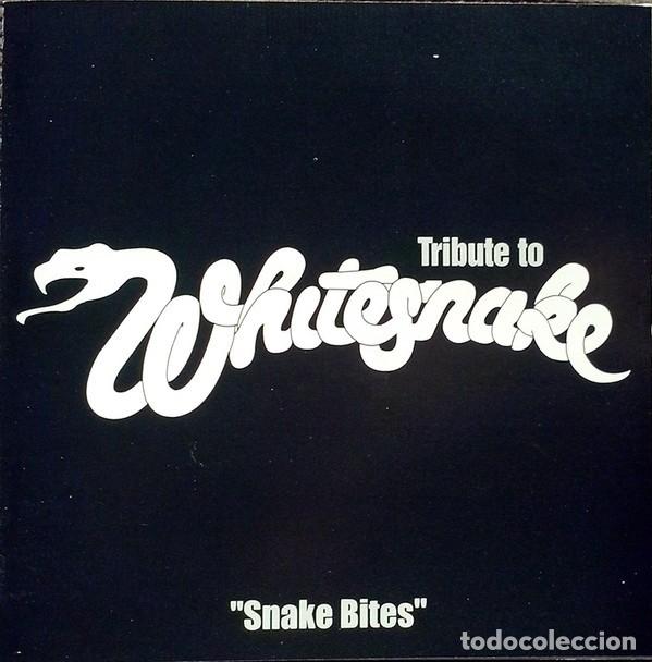 VARIOUS - SNAKEBITES - A TRIBUTE TO WHITESNAKE (Música - CD's Heavy Metal)