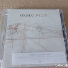 CDs de Música: COLDPLAY. LIVE 2003. CD + DVD. . Lote 173653250