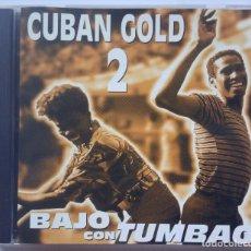 CDs de Música: V.A - BAJO CON TUMBAO CUBAN GOLD 2 - US CD 1995 - QBADISC. Lote 173654459
