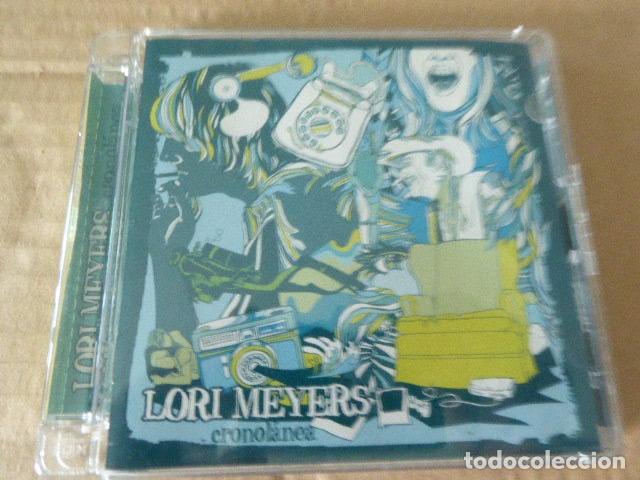 LORI MEYERS. CRONOLANEA. 13 TEMAS. (Música - CD's Rock)