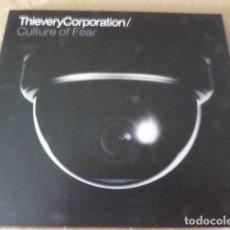CDs de Música: THIEVERY CORPORATION. CULTURE OF FEAR. 13 TEMAS. DIGIPACK. BUEN ESTADO.. Lote 173657830