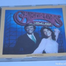 CDs de Música: CD - THE CARPENTERS - LIVE AT THE PALLADIUM - 1976. Lote 173665285