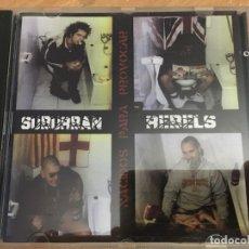 CDs de Música: SUBURBAN REBELS ( NACIDOS PARA PROVOCAR) CD 14 TRACK PUNK (CDIB1). Lote 173668655
