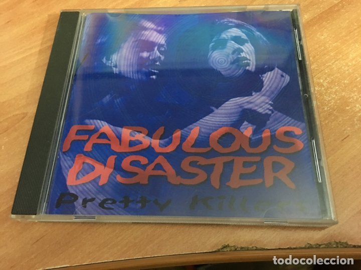 FABULOUS DISASTER (PRETTY KILLERS) CD 14 + 4 BONUS TRACK AUTOGRAPH LYNDA AND OTHER MEMBER (CDIB1) (Música - CD's Rock)