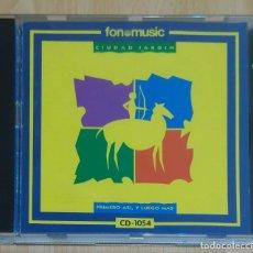 CDs de Música: CIUDAD JARDIN (PRIMERO ASÍ, Y LUEGO MAS) CD 1990 FONOMUSIC. Lote 173677483