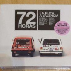 CDs de Música: 72 HORAS - LA RUTA A VALENCIA - 2 CD'S + DVD 2008 * PRECINTADO. Lote 173678362