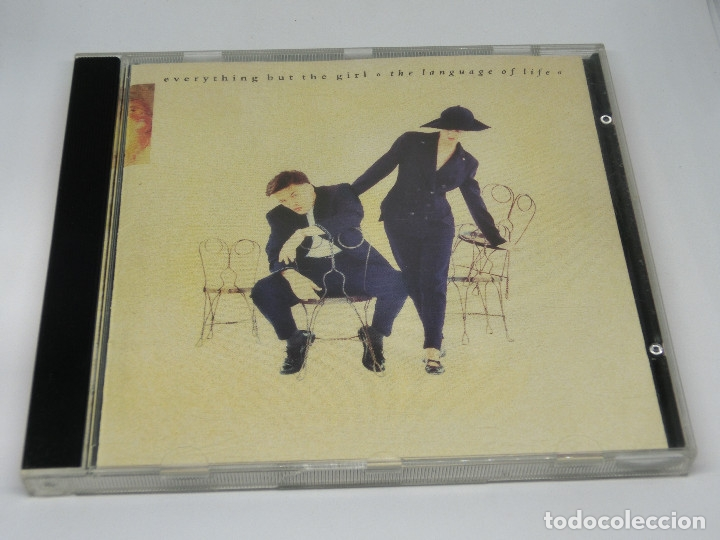 CD - EVERYTHING BUT THE GIRL - THE LANGUAGE OF LIFE - 1990 (Música - CD's New age)