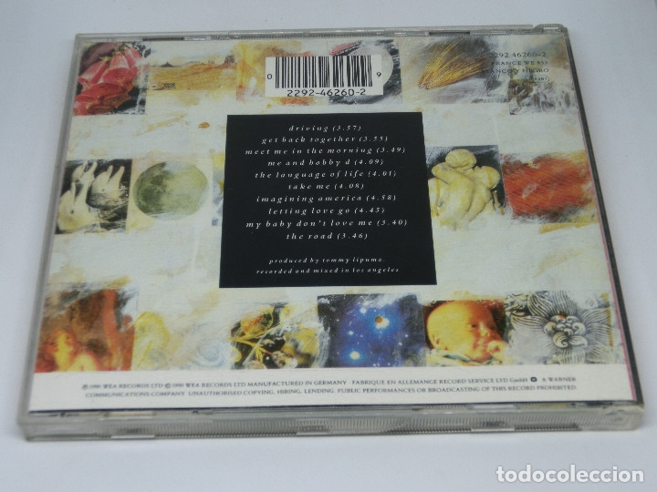CDs de Música: CD - EVERYTHING BUT THE GIRL - THE LANGUAGE OF LIFE - 1990 - Foto 2 - 173678910