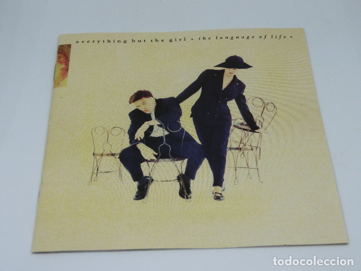 CDs de Música: CD - EVERYTHING BUT THE GIRL - THE LANGUAGE OF LIFE - 1990 - Foto 5 - 173678910