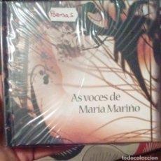 CDs de Música: AS VOCES DE MARIA MARIÑO - LUIS TOSAR - 2007 - CD + LIBRO - GALEGO. Lote 173684713