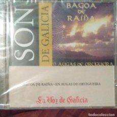 CDs de Música: BAGOA DE RAIÑA - EN AUGAS DE ORTIGUEIRA - - CD - GALEGO. Lote 173684763