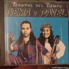 CDs de Música: GEMA Y PAVEL - TRAMPAS DEL TIEMPO - 1994 - CD - NUBE NEGRA. Lote 173684858