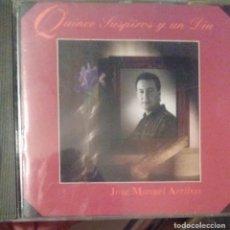 CDs de Música: JOSE MANUEL ARRIBAS - QUINCE SUSPIROS Y UN DIA - 1994 - CD. Lote 173684969