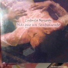 CDs de Música: LUDMILA MERCERON - MAS QUE UN SENTIMIENTO - 2009 - CD - ARAGON. Lote 173684984