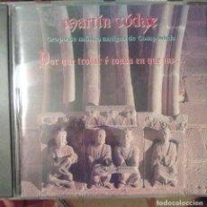 CDs de Música: GRUPO DE MUSICA ANTIGUA MARTIN CODAX - POR QUE TROBAR E COUSA EN QUE IAZ... - 1995 - CD - GALEGO. Lote 173684999