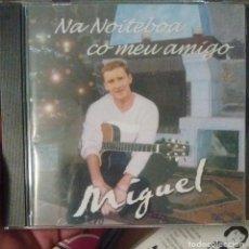CDs de Música: MIGUEL A. MARTÍNEZ - SUSO VAAMONDE - NA NOITEBOA CO MEU AMIGO - 2001 - CD - GALEGO. Lote 173685034