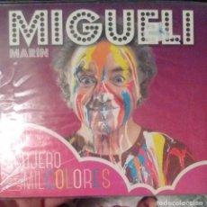 CDs de Música: MIGUEL MARIN - UN AGUJERO CON MIL COLORES - 2015 - CD. Lote 173685039