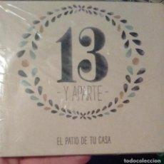 CDs de Música: PATIO DE TU CASA - 13 Y APARTE - 2013 - CD. Lote 173685069