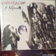CDs de Música: X ALFONSO - CIVILIZACION - 2005 - CD + DVD. Lote 173685144