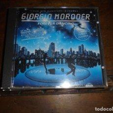 CDs de Música: GIORGIO MORODER. FOREVER DANCING. VIRGIN , 1992. CD. IMPECABLE (#). Lote 173762205