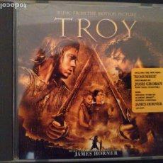 CDs de Música: TROYA.DE JAMES HORNER.BSO. Lote 173790035